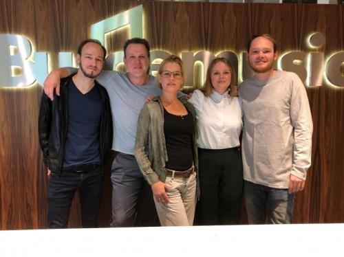 Budde Music and Edition MUM Publishing sign Anja Krabbe