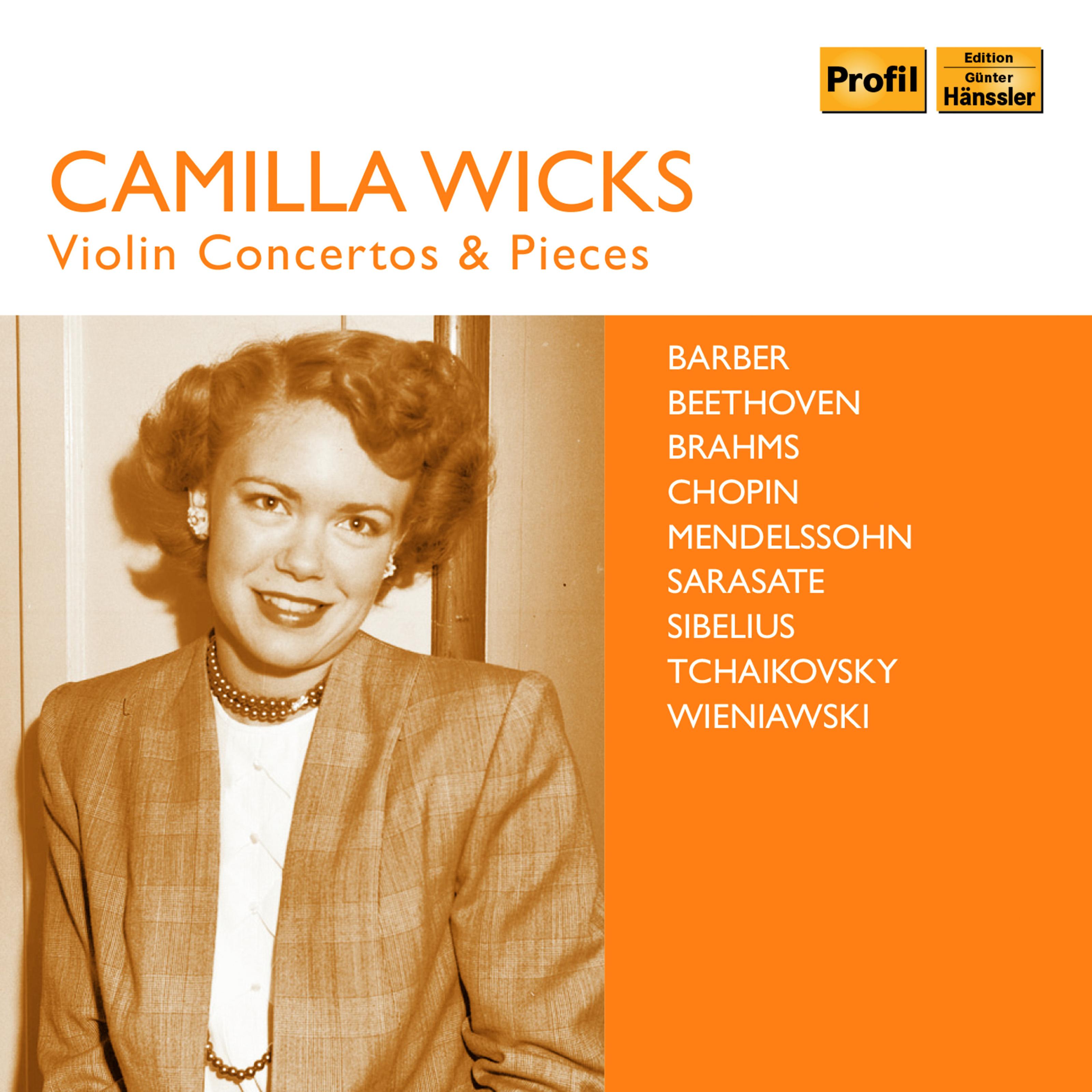 Wicks: Violin Concertos & Pieces