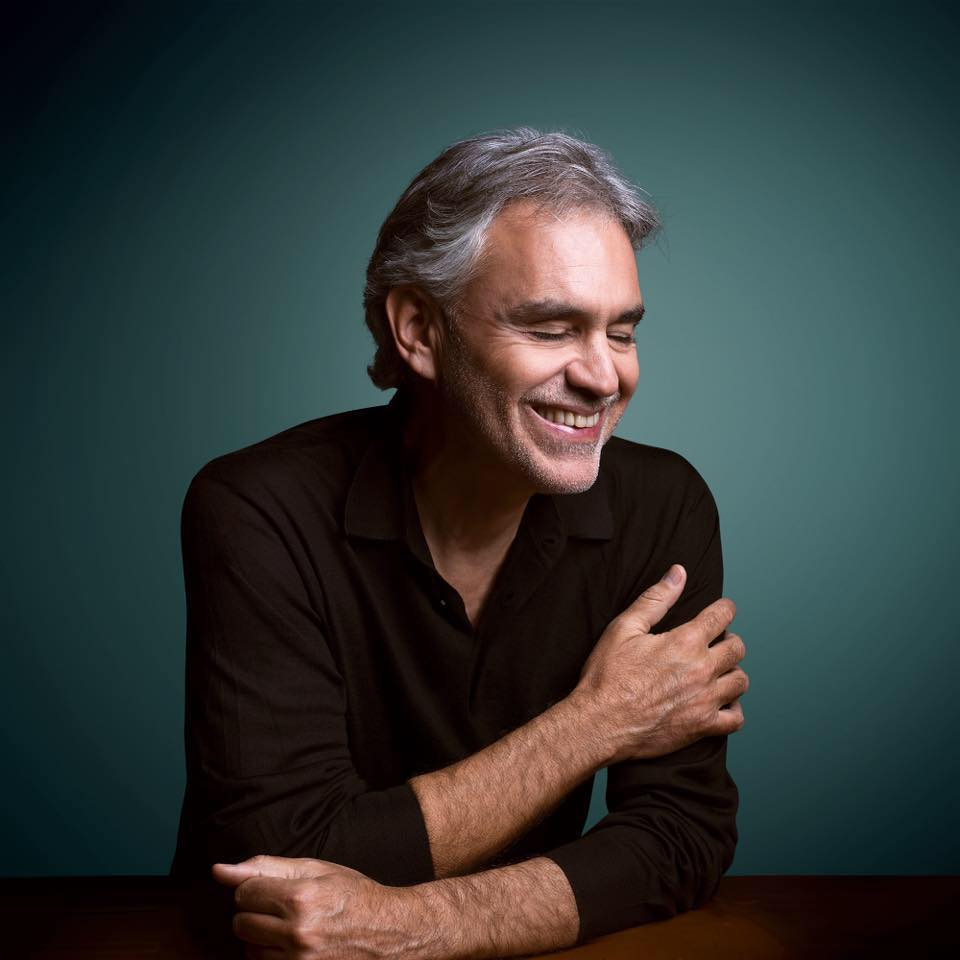 """Andrea Bocelli Releases New Album, """"Si"""""""