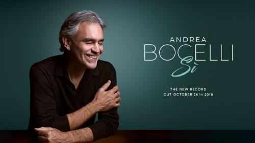 Andrea Bocelli Releases Sì