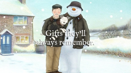 Barbour Brings The Snowman To Life