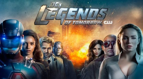 """""""Girl"""" By TimeCop1983 Feat. SEAWAVES In Tonight's Episode Of DC's Legends Of Tomorrow On The CW"""