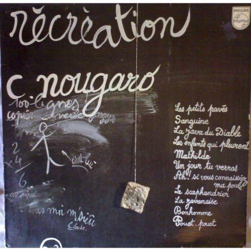 """Claude Nougaro """"Sonnet à Legrand"""""""