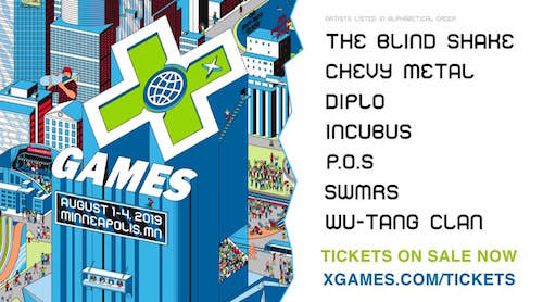 The Blind Shake Named To X Games Minneapolis 2019 Music Line-Up