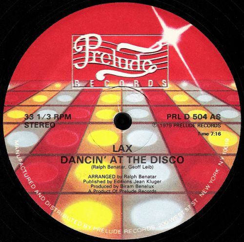 "L.A.X ""Dancing At The Disco"""