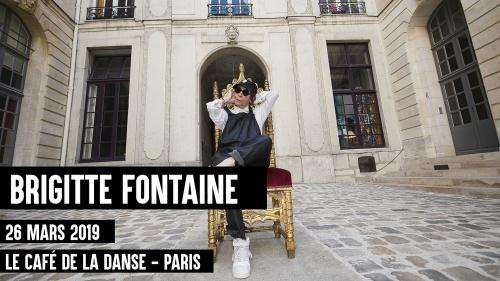 Brigitte Fontaine nouvelle date !