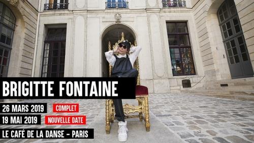 Brigitte Fontaine en concert nouvelles dates !