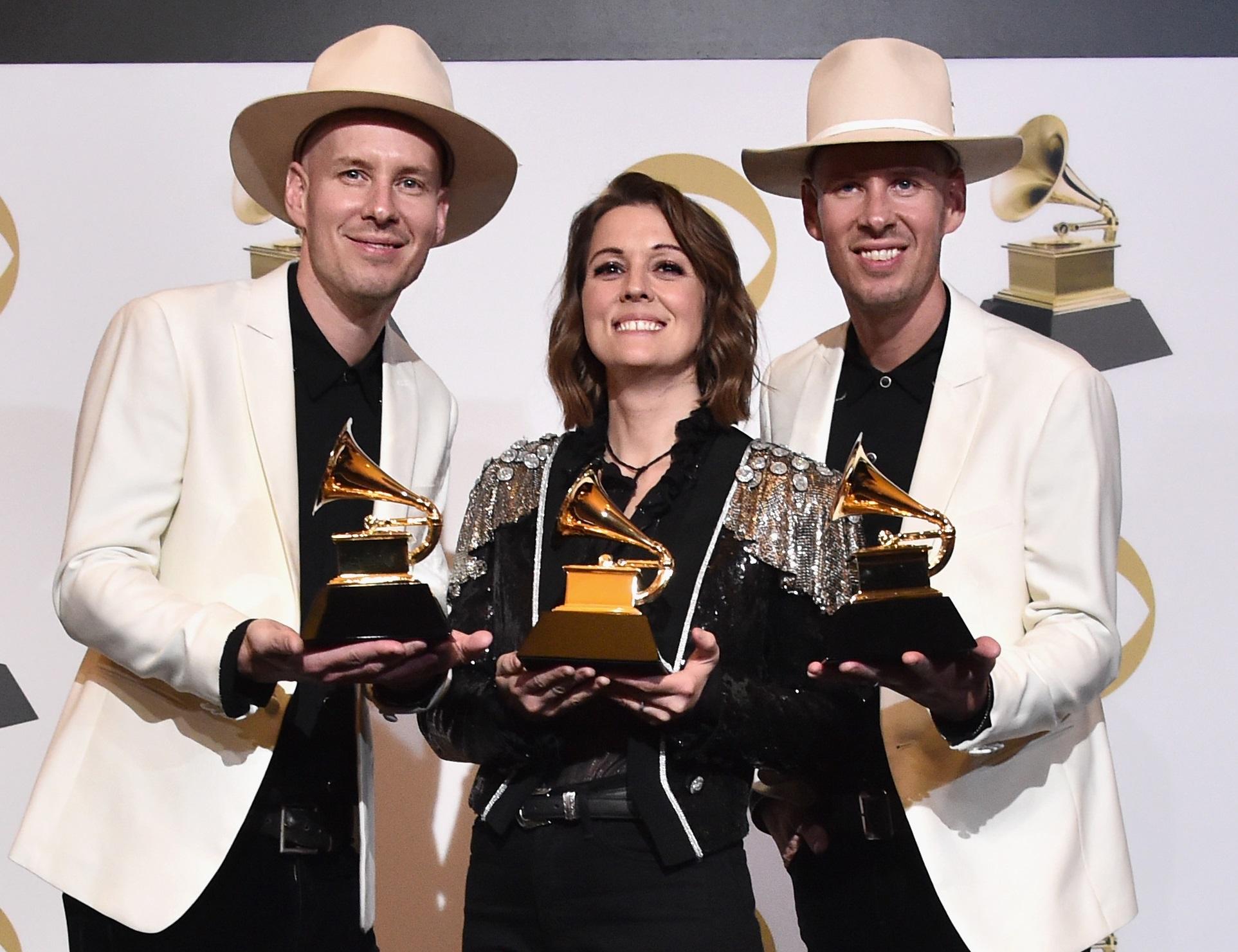 Brandi Carlile Takes Home Three Grammysat the 61st Annual Awards