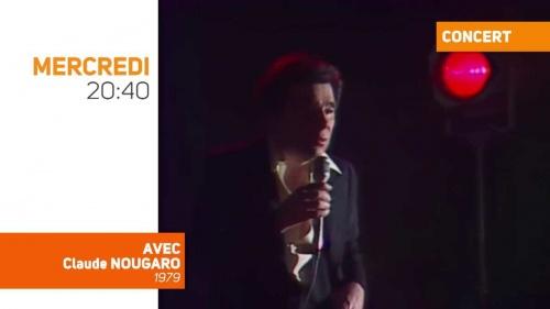 Hommage à Claude Nougaro sur Melody TV
